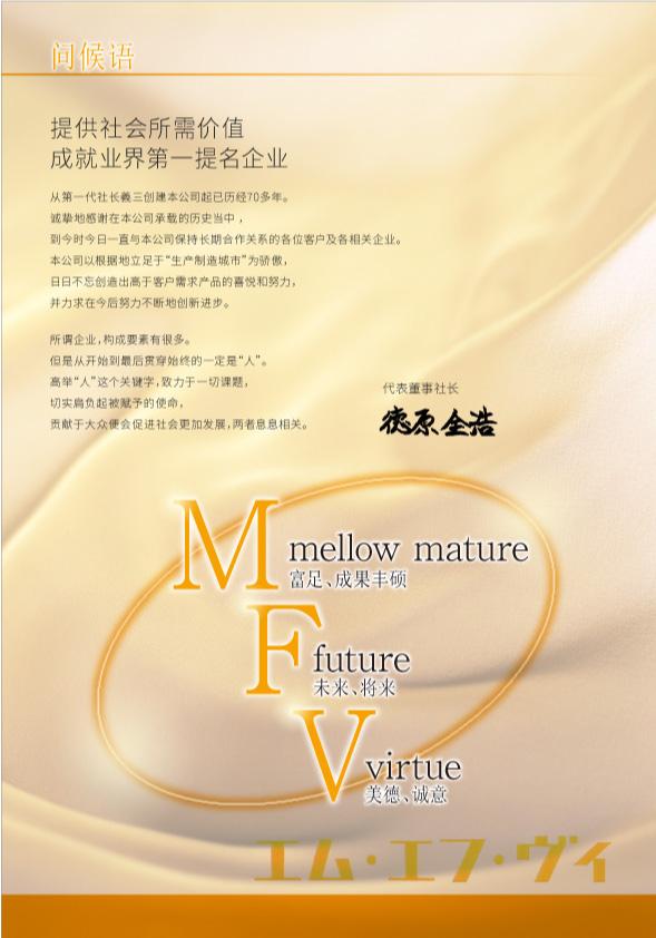 MVF 会社案内 デザイン 上海