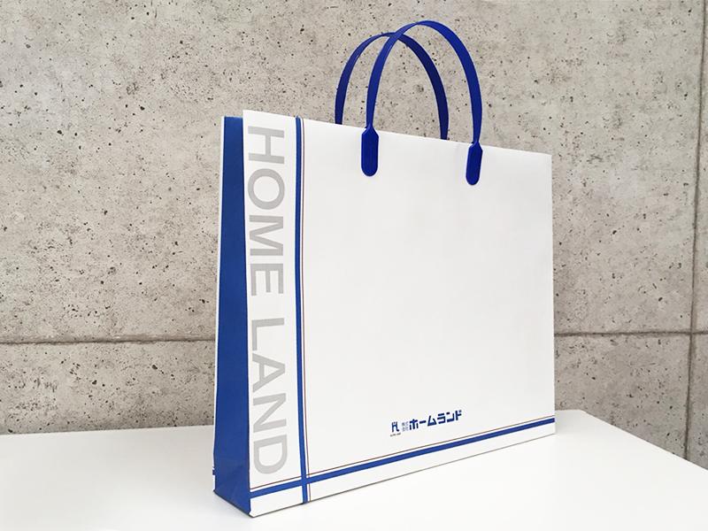 ホームランド 紙袋 デザイン