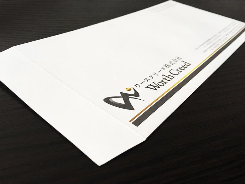 ワースクリード 封筒 デザイン