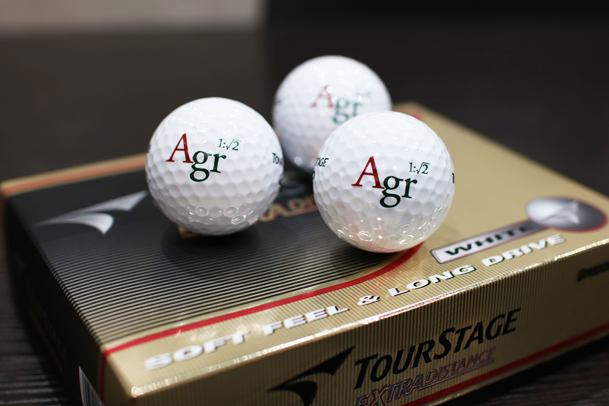アグレ/ゴルフコンペ/ゴルフボール